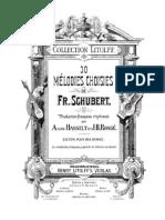 Lieder de F. Schubert