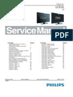 Manual Serviço 32pfl5604d - 42pfl5604d - 42pfl7404d - 47pfl5604d - 52pfl7404d - Chassis LC9.2LLA
