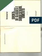 F Fernandes - Sociedade de Classes e Subdesenvovlvimento - Cap 01