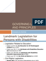 sped laws and principals  including ieps