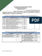 Informe Académico 3er Periodo 2014