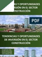 Oportunidades de Inversión en El Sector Construcción