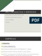 3 Empresas y Productos Ing. Productos