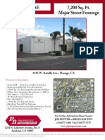 7,200 Sq. Ft. Major Street Frontage