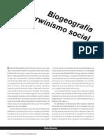 Biogeografía y Darwinismo Social - Peter Bowler