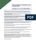 In Ce Conditii Inceteaza Suspendarea Contractului de Munca Dupa Concediul de Crestere Copil