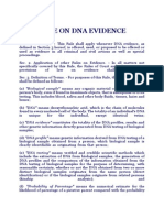 Rule on Dna Evidence