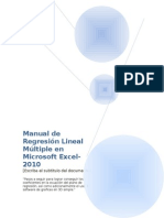 2.-Manual Para Regresion Multiple