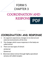chapter 3:coordination and response