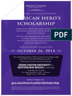 GCU - American Hero Scholarship