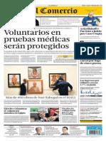 D-EC-09072013 - El Comercio - Portada - Pag 1