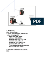 Konfigurasi PC Server
