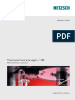 Thermomechanical Analysis [TMA] [NETZSCH]
