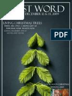 December 12 & 13, 2009