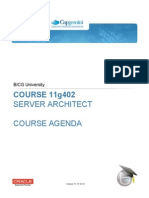 BICGU 11-402 Server Architect Agenda