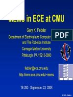 Lecture04 Fedder ECE 18 200 Fall2004