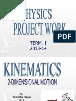 Physics-Kinematics