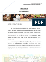 Arce Dairy Paper for Production and Operations Management