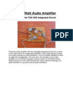 1 W Audio Amplifier