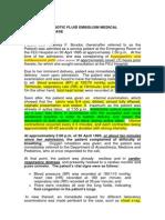 Amniotic Pulmonary Embolism Medical Malpractice Case Study
