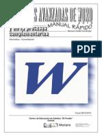 Vip Genial Funciones Avanzadas Word 2010