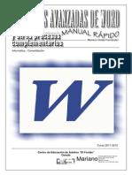 Vip Genial Funciones Avanzadas Word 2010-2