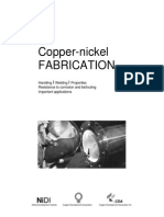 Copper Nickel fabrication