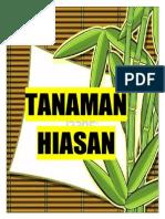 TANAMAN-HIASAN
