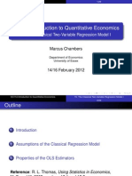 The Classical Two-Variable Regression Model
