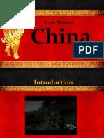 Trade Mission Portfolio - China
