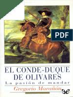 El Conde Duque de Olivares - Gregorio Maranon