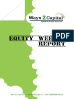 Equity Report by Ways2Capital 30 Sep 2014