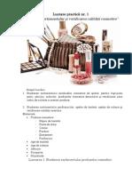 Lucrare Nr 1 Produse Cosmetice