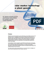 Using molecular marker technology in studies on plant genetic diversity
