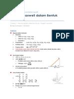 Rangkuman UTS Medan elektromagnetik