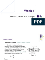 Bef 12403 Week 1 Electric Charge Voltage Power and Energy