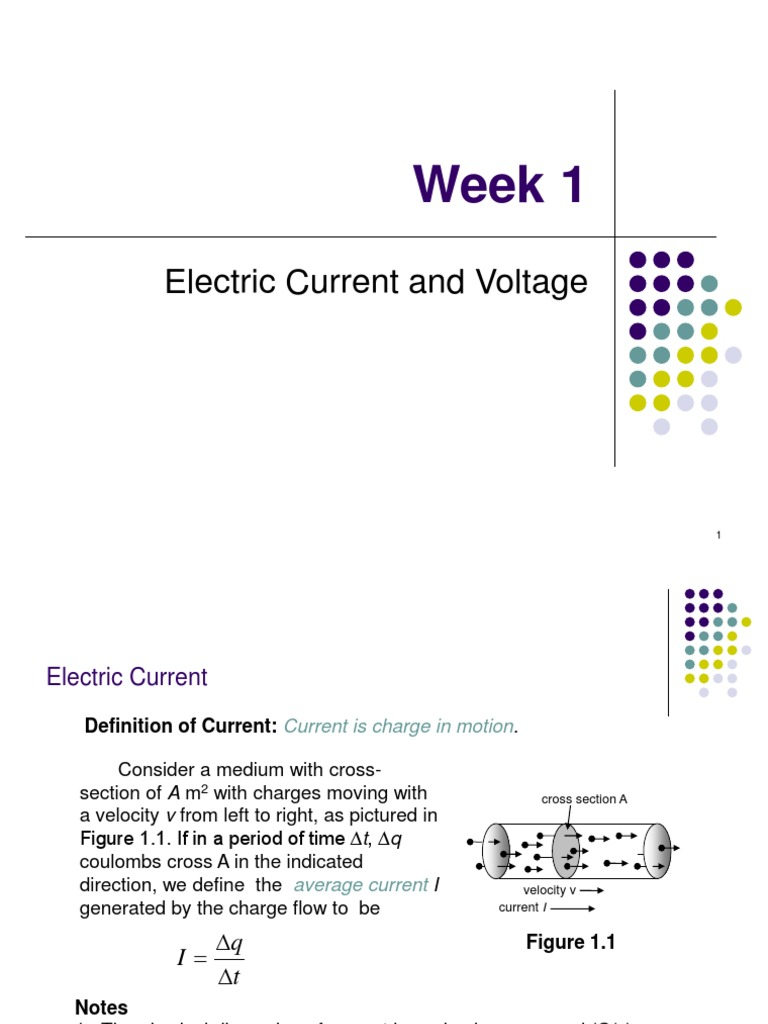 bef 12403 week 1 electric charge voltage power and energy   electric