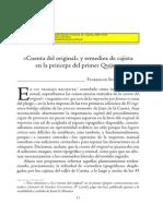 Florencio Sevilla Arroyo - Remedios Del Cajista en El Quijote