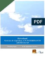 Kutxabank. Noticias de Gipuzkoa. UN INTERESANTE ARTICULO II