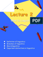 branches of linguistics pp