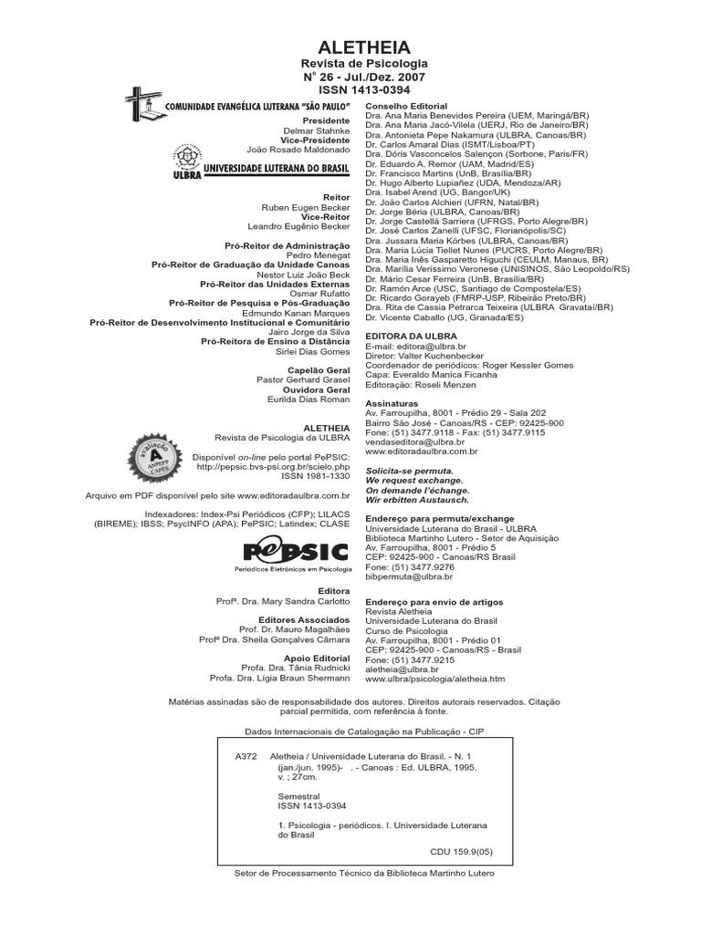 Avaliao psicolgica neuropsicolgica e recursos em neuroimagempdf fandeluxe Choice Image