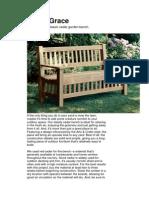 Bench - Classic Cedar Garden