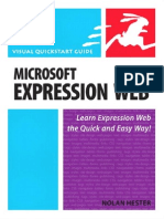 Peachpit Press -VISUAL QUICKSTART GUIDE - Microsoft Expression Web