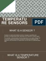 Temperature Sensors and Photo Sensors