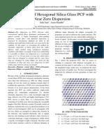 IJAERS-SEPT-2014-027-New Design of Hexagonal Silica Glass PCF With Near Zero Dispersion