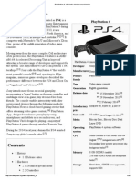 PlayStation 4 - Wikipedia, The Free Encyclopedia