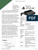 PlayStation 4 - Wikipedia, The Free Encyclopedia