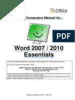 1 Word 2007 2010 Essentials