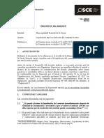 Liquidacion Ante La Resolucion Del Contrato de Obra
