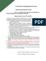 1 4Proposta de alteração do Regulamento Interno-Pais - avaliação de docentes[1]